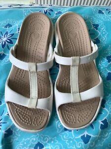 Ladies Croc Sliders Sandals (US Size 11) Size 9 Uk
