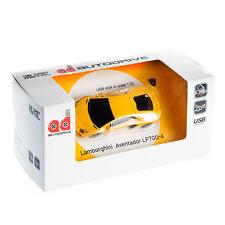 Lamborghini Aventador Sports Car USB Memory Stick Flash Pen Drive 8Gb - Yellow
