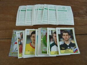 59 Panini Euro 2000 Football Stickers - VGC! All Different - Green Back Stickers