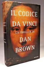 IL CODICE DA VINCI Dan Brown MONDADORI 2004