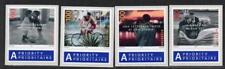 SWITZERLAND MNH 2005 SG1625-28 Greetings, Self Adhesive Stamps