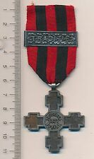 ROMANIA Order ROMANIAN Medal OFFICER Independence WAR 1877 Clasp TRADITIE Bar RR