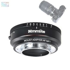 Commlite AI-MFT AI-M43 Mount Lens Adapter for Nikon F AI Lens to M4/3 Camera