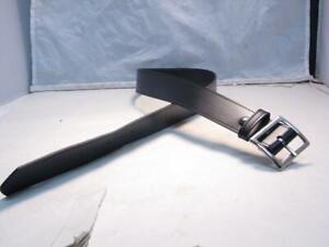 """GALLS Size 38"""" Chrome Buckle Black Economy 1.5"""" Wide Garrison Gun / Under Belt"""