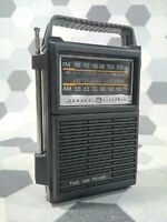 Vintage! GE General Electric 7-2800A AM/FM Two Way Power Radio. Works Great!