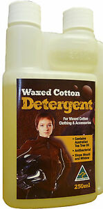Wax Cotton Wash for Motorcycle Jacket  Australian Made Cleans & Removes Odour