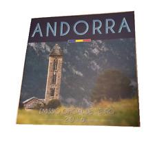 offizieller KMS Kursmünzensatz Andorra 2016 1 Cent bis 2 Euro