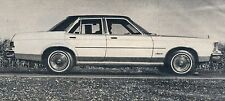CLASSIC VINTAGE RETRO 1975 GRANADA/MERCURY MONARCH NEW CAR DRIVING ARTICLE
