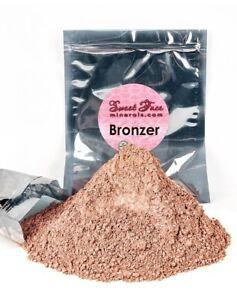 BRONZER (8 OUNCE) Bulk Refill Mineral Makeup Bare Face Bronzing Tanning Powder