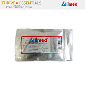 Allimed® Capsules 450 mg. (100 Capsule Pack), Highest Quality + FREE P&P UK