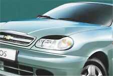 Cilia head lights Headlights eyebrows Daewoo Lanos 1997- Design eyebrows type -1