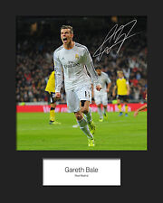 GARETH BALE #1 10x8 SIGNED Mounted Photo Print - FREE DELIVERY