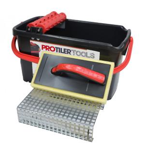 ProTilerTools 23L Professional Washboy With Metal Grid & Sponge