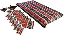 TABLECLOTH SET - NAPKINS COVERS FOR THE KITCHEN APPLIANCES BREADBASKET CANDY BOX