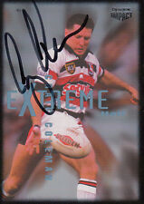 1995 NRL WINFIELD CUP TRIBUTE SIGNED TRADING CARD - #14 CRAIG COLEMAN SEAGULLS