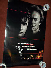 Rookie Clint Eastwood Charlie Sheen Movie Poster Double Sided