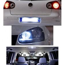 KIT 16 Ampoules LED Blanc Pour GOLF 5 V anti erreur plaque Plafonnier coffre