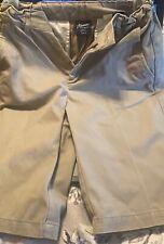 Khaki boys uniform shorts