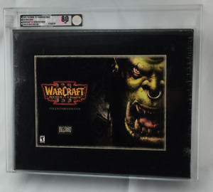 New Warcraft III 3 Reign of Chaos Collector's Edition Graded VGA 80 Near Mint