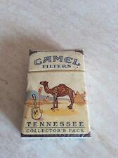 Rarissimo pacchetto di sigarette sigillato Camel Tennessee collector's pack