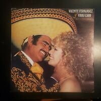 """Vicente Fernandez y Vikki Carr """"Dos Corazones"""" Vinyl Record LP"""