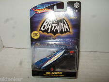 New & Sealed Hotwheels N8016 Batman TV Series 1966 BatBoat with Trailer