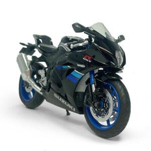 1:12 Scale Suzuki GSX-R1000 Motorcycle Model Diecast Sport Bike Toy Kids Black