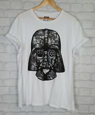 Da Uomo Star Wars Darth Vader Maglietta a URBAN RENWAL Grunge UK L