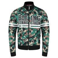 Label 23 Jacke Trainingsjacke TS 23 camo Herren Boxing  Sweatjacke Zipper