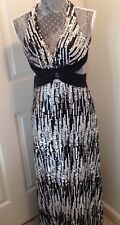 La Femme Black and Silver Prom Formal New Year's Holiday Dress Sequins Size 6