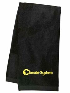 Chessie System Logo Embroidered Hand Towel 100% USA cotton terry velour
