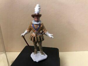 PETIT SOLDAT PLASTIQUE MDM HENRI IV SOCLE NOIR