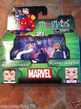 Marvel Minimates STRETCH PUNCH MISTER FANTASTIC & PUPPET MASTER Wave 48 Four