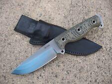 BUSSE Combat SOB Son Of Badger Knife Custom Molded Leather Sheath BLACK - USA
