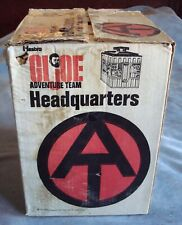 "Vintage 1970s Hasbro ""G I JOE ADVENTURE TEAM HEAD QUARTERS"" W/ Box & Accessories"