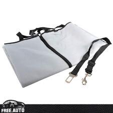 Dog Cat Pet Car Seat Cover Mat Gray Rear Back Seat Protector Waterproof