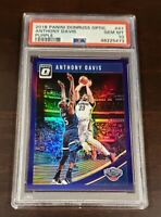 2018 Donruss Optic Anthony Davis Purple Holo Refractor PSA 10 Gem 💎 Lakers
