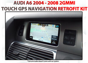 AUDI A6 2G MMI 2004 - 2008 - Touch overlay GPS NAV Integration