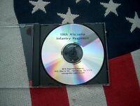 Civil War History of the 19th Alabama Infantry Regiment on a CD