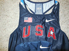 Nike Swift Elite USA Track and Field Running Singlet Speedsuit Olympics USATF L