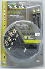 Monster Cable Video 2 MV2AV25-4M   AV / RCA Cable Kit - 4 Meter