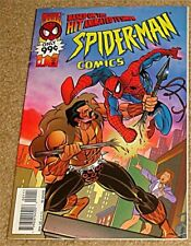SPIDERMAN COMICS 1 RARE GIVEAWAY PROMO ANIMATED SERIES KRAVEN RARE F PROMOTIONAL