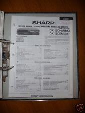 Manuel de service pour Sharp DX-150 lecteur cd original