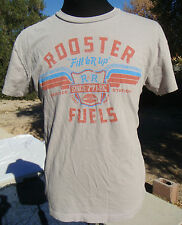 Randy Rooster R&R Fill'er Up Fuels Vegas Algodon Cotton Custom Couture Shirt