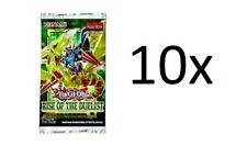 Yu-Gi-Oh! 10x Rise of the Duelist booster pack english new sealed