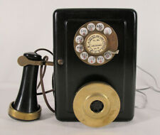 Antique 1930's Western Electric 533 Wall Phone Shabby Chic Condition  yqz