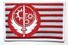 """Fallout Brotherhood of Steel Flag 4"""" Embroidered Patch- USA Mailed (FOPA-08)"""