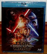 STAR WARS EL DESPERTAR DE LA FUERZA 2 BLU-RAY PRECINTADO NUEVO (SIN ABRIR) R2
