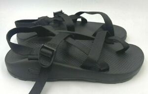 NEW Chaco Men's Z2 Classic Sports Sandals Solid Black Size 10 #344