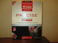 Pack of 4 Tylenol Precise Pain Relieving Heat Patch arms neck legs *Collectible